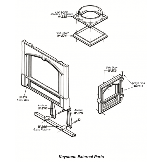 Palladian 202 Keystone 204 External Parts
