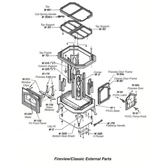 Fireview 205 External Parts