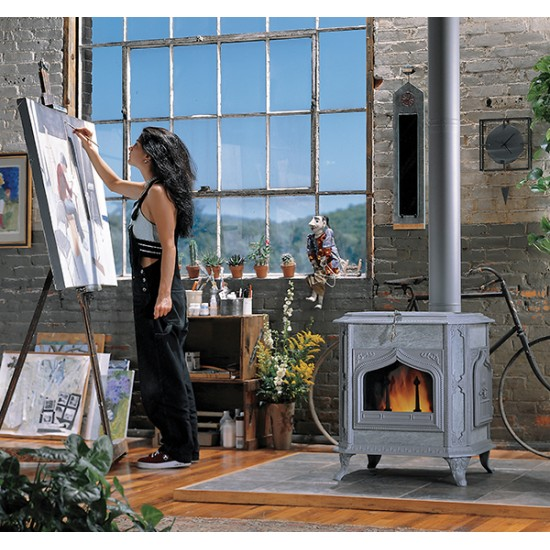 Fireview Soapstone Wood Stove
