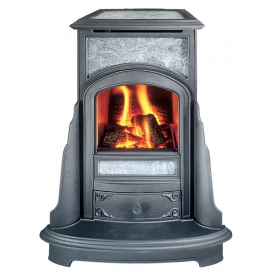 Cottage Franklin Soapstone Gas Stove