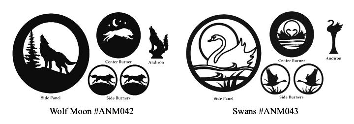 Woodstock Soapstone Animals Birds Designs