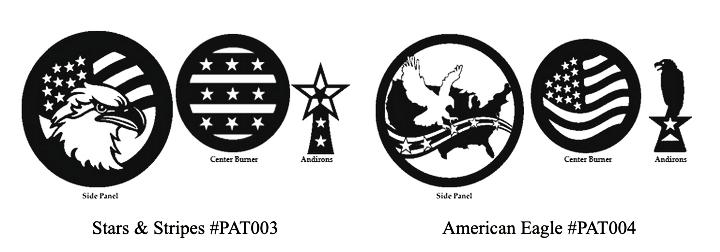 Woodstock Soapstone Patriotic Designs