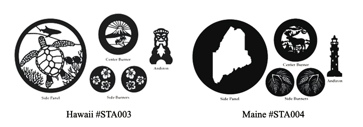 Woodstock Soapstone US States Designs