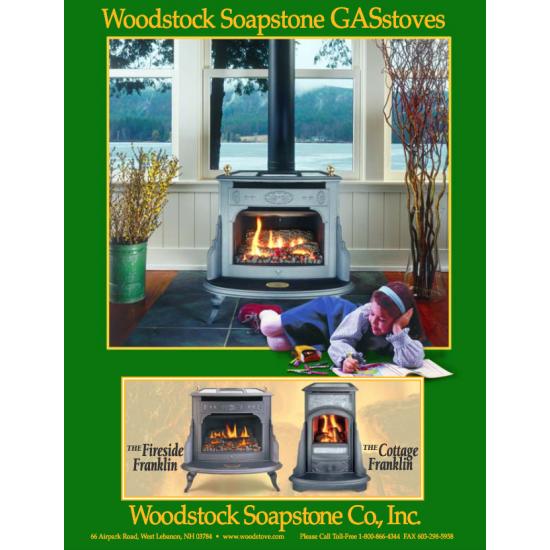 Woodstock Soapstone Gas Stoves