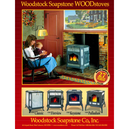 Woodstock Soapstone Wood Stoves