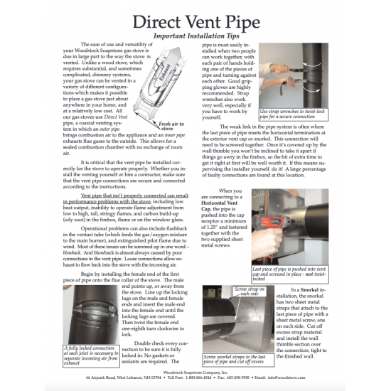 Direct Vent Installation Tips