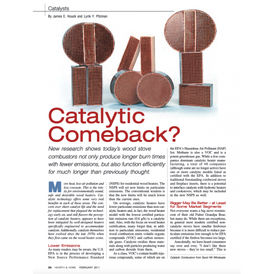 Catalytic Comeback