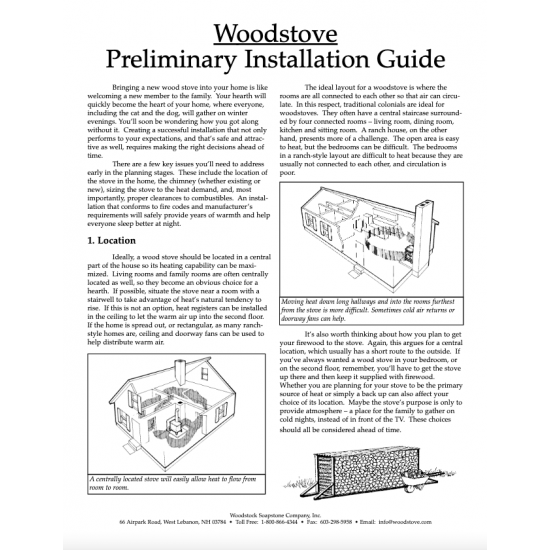 Wood Stove Installation Guide