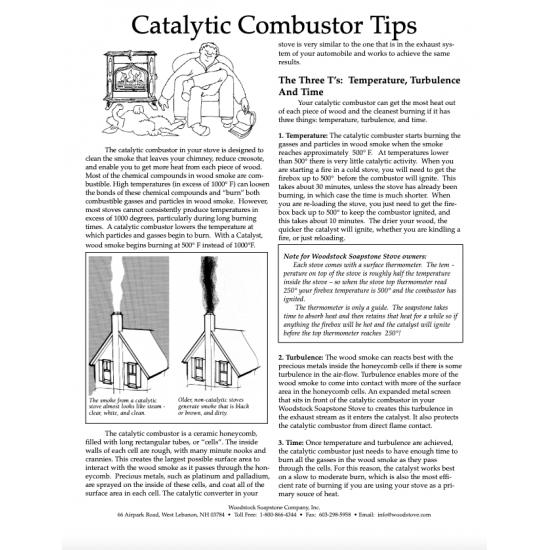 Catalytic Combustor Tips