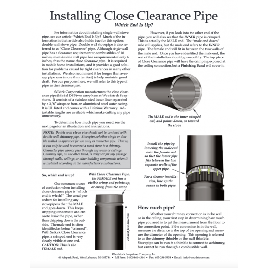 Installing Close Clearance Pipe